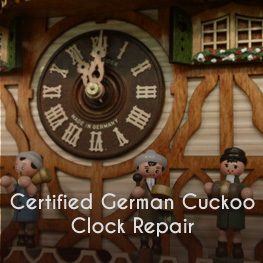 certified german cuckoo clock repair at miller clock oshkosh wi